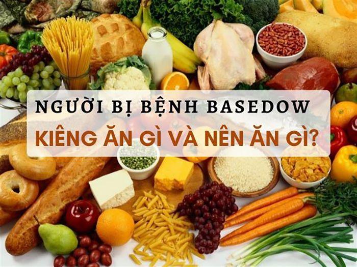 Chế độ ăn dành cho bệnh nhân Basedow