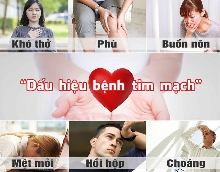 Dấu hiệu mắc bệnh tim mạch sớm