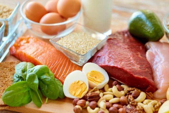 đau dạ dày nên ăn hực phẩm giàu protein