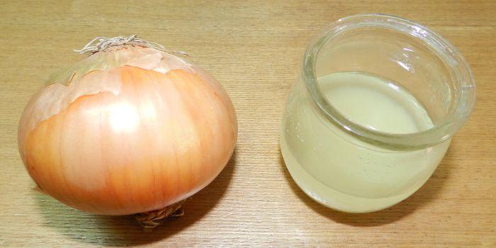 Hành tây chữa rụng tóc sau sinh